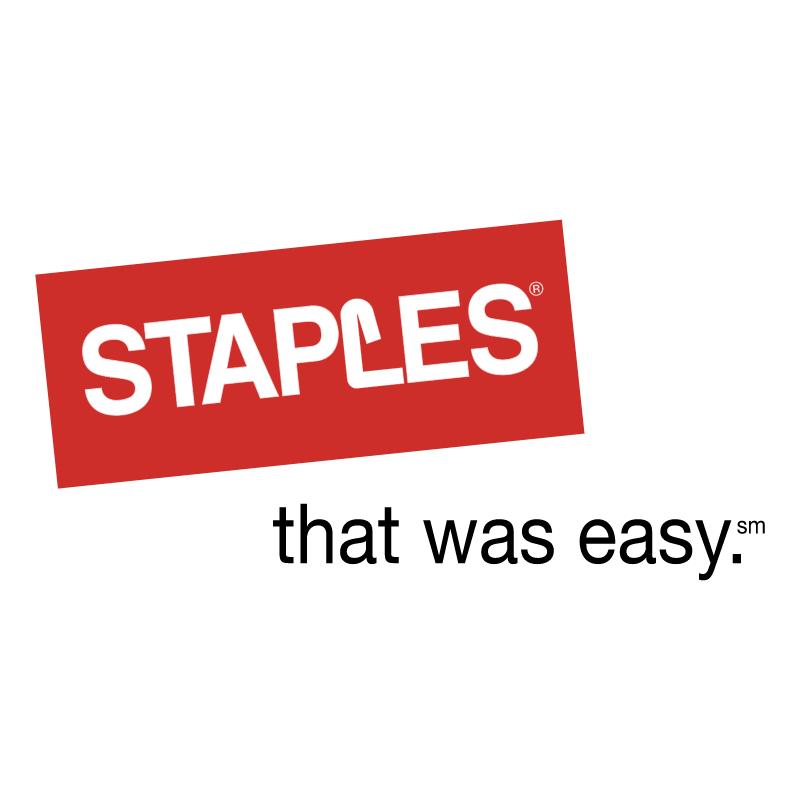 Staples vector