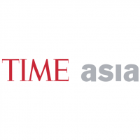 Time Asia vector