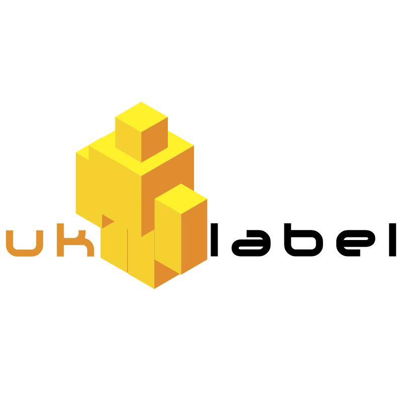 UK Label vector