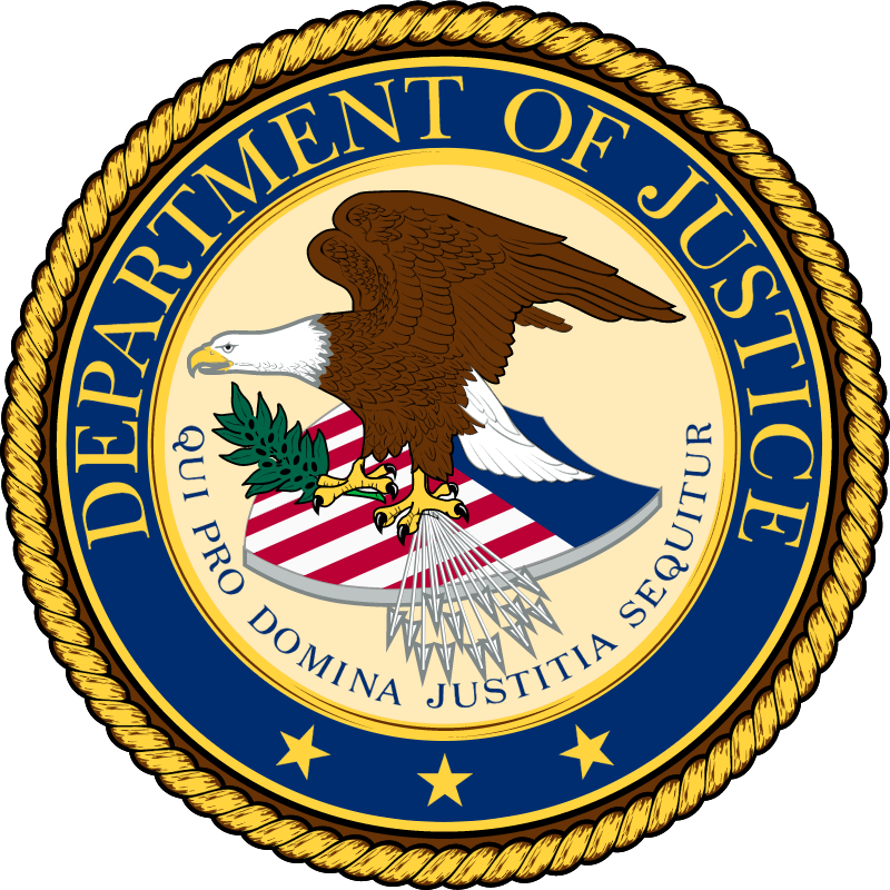 US Department Of Justice vector