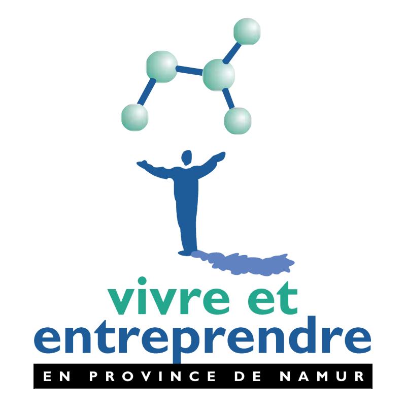 Vivre et Entreprendre vector