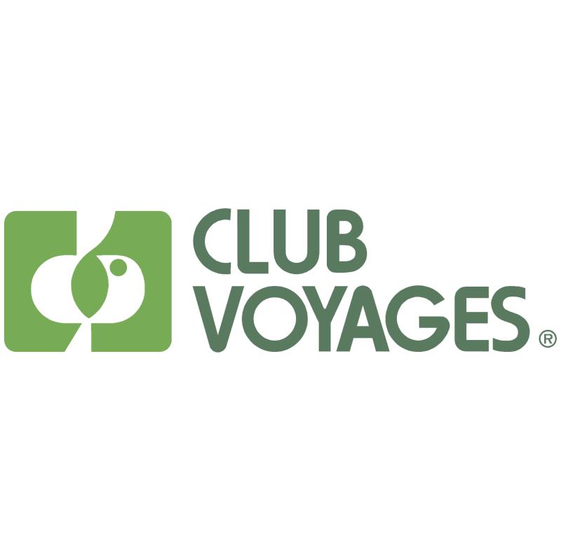 Voyages Club vector logo