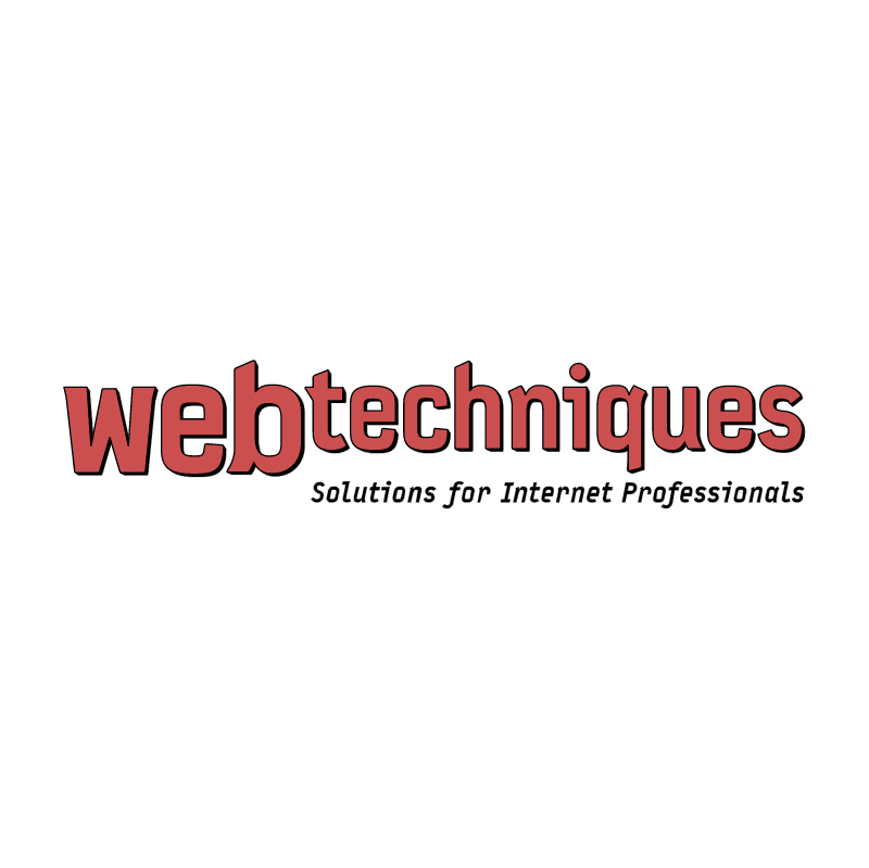 WebTechniques vector