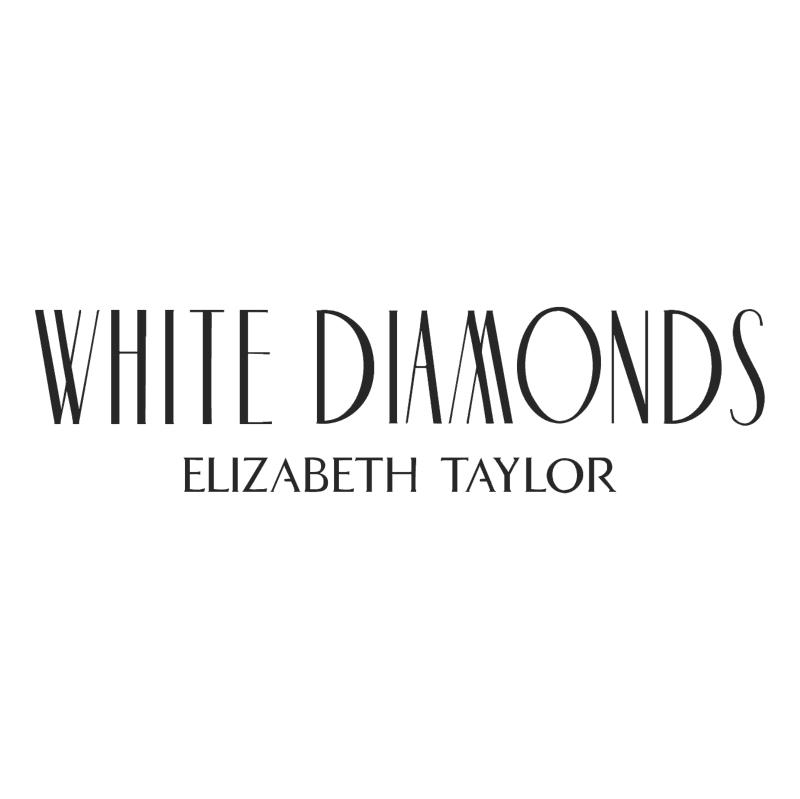 White Diamonds vector