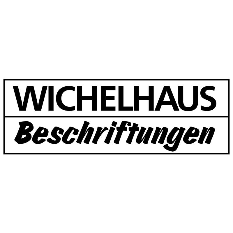 Wichelhaus Beschriftungen vector logo