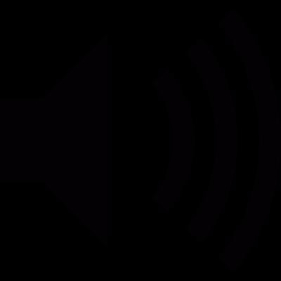 Sound on vector logo