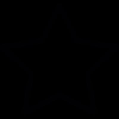 Star shaped vector logo