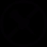 Forbidden to thumbtacks vector