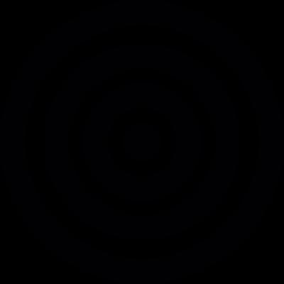 Spiral target vector logo