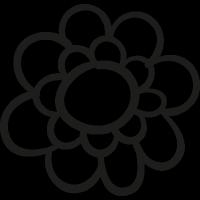 Garden Flower Petals vector