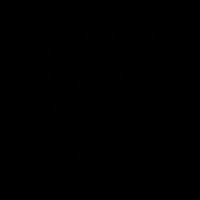Road Pin vector