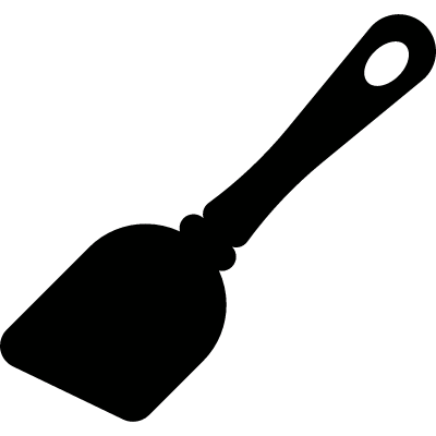 Inclined Spatula vector logo