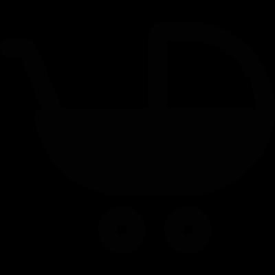 Stroller vector logo