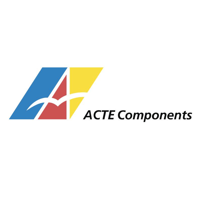 ACTE Components vector logo