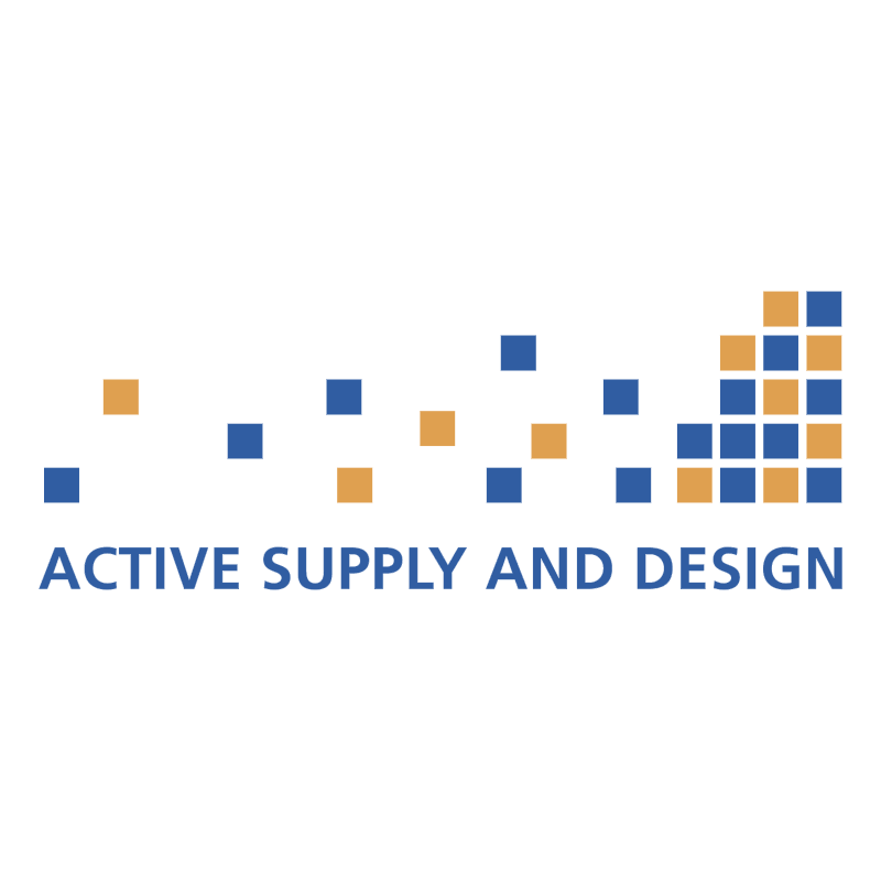 Active Supply And Design vector