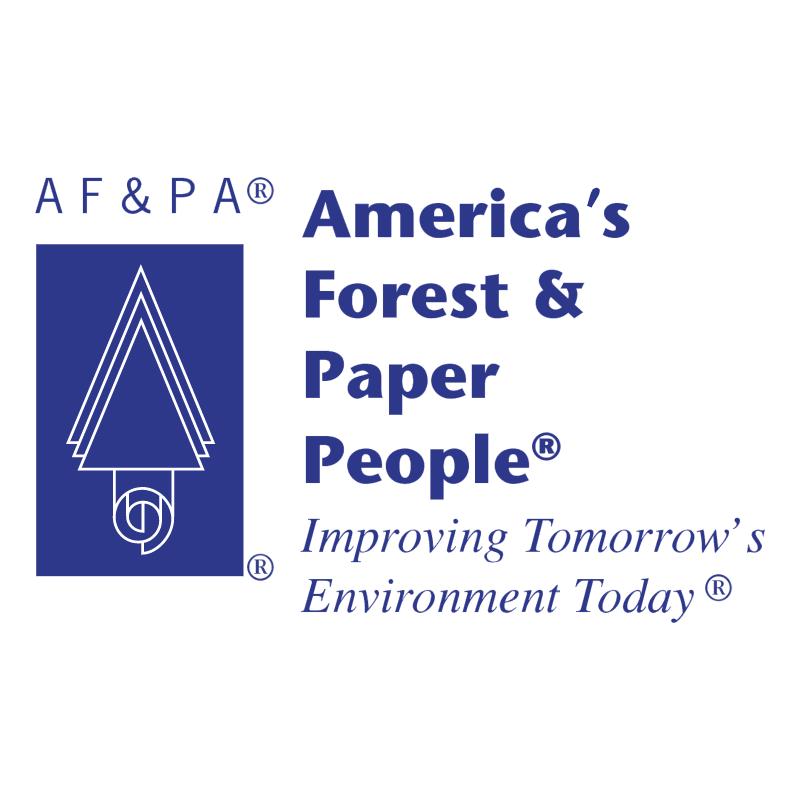 AF&PA vector logo