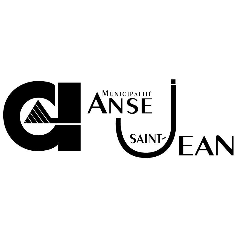Anse Saint Jean vector