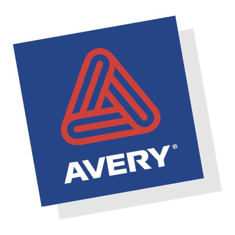 Avery 34222 vector