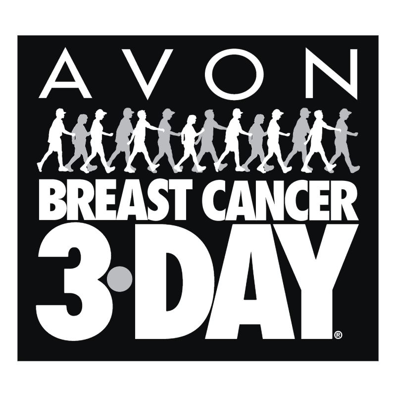Avon Breast Cancer 3 Day vector
