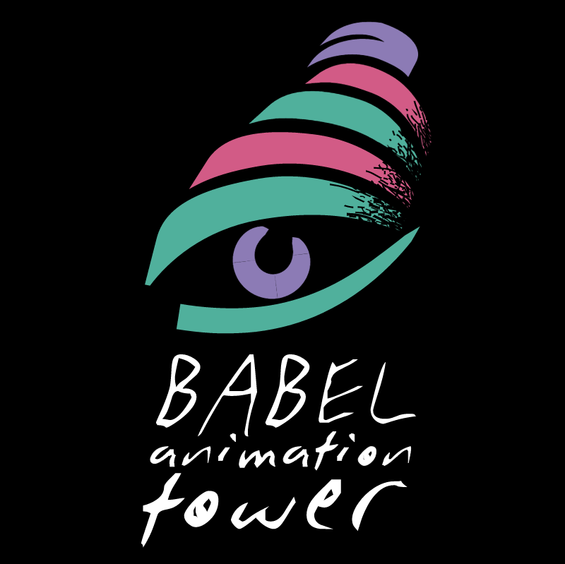 Babel Animation Tower vector