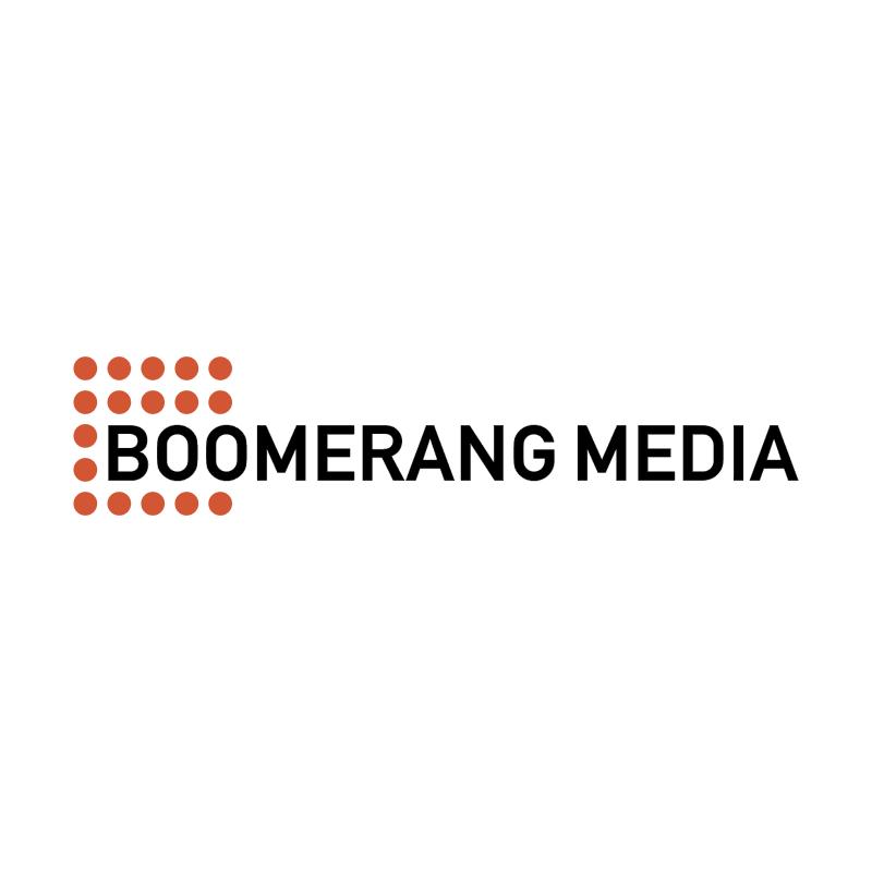 Boomerang Media vector