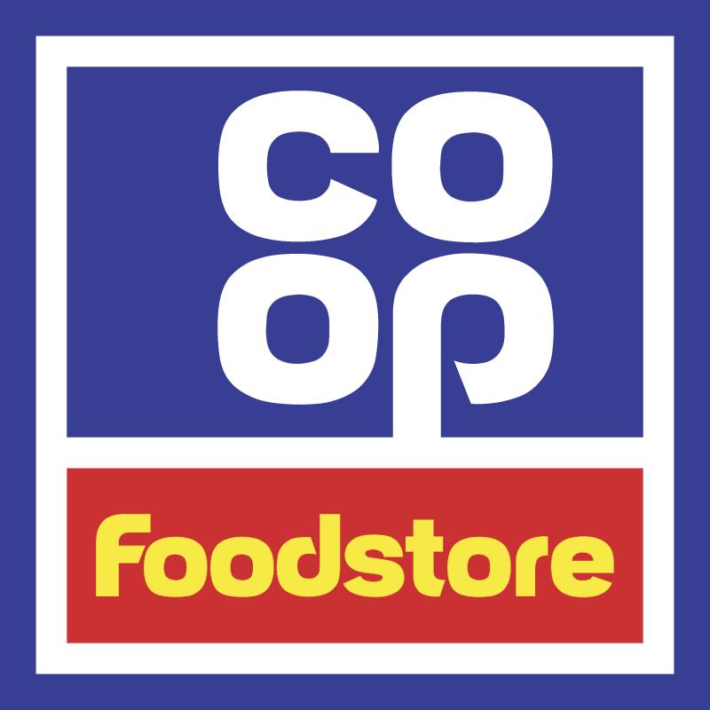 Coop foodstore logo vector