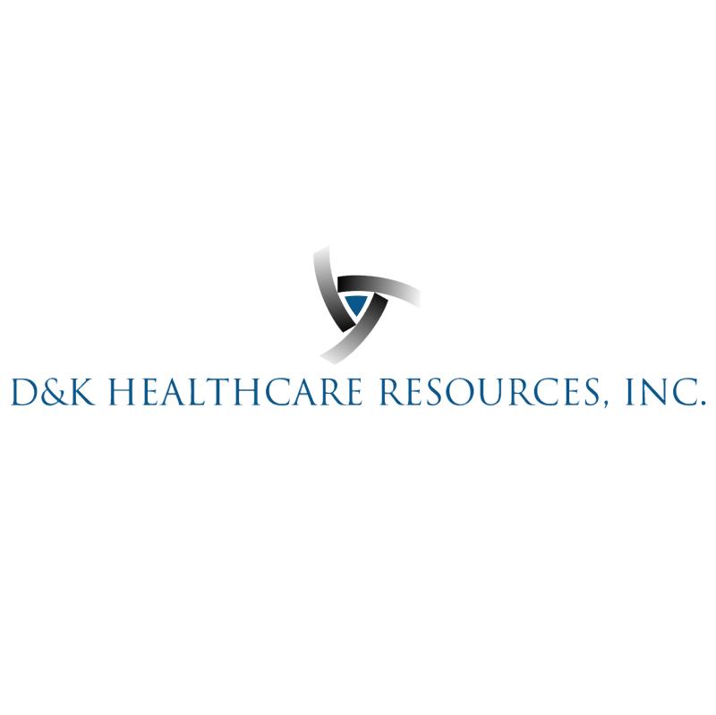 D&K Healthcare Resources vector