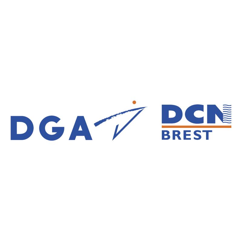 DGA DCN Brest vector logo