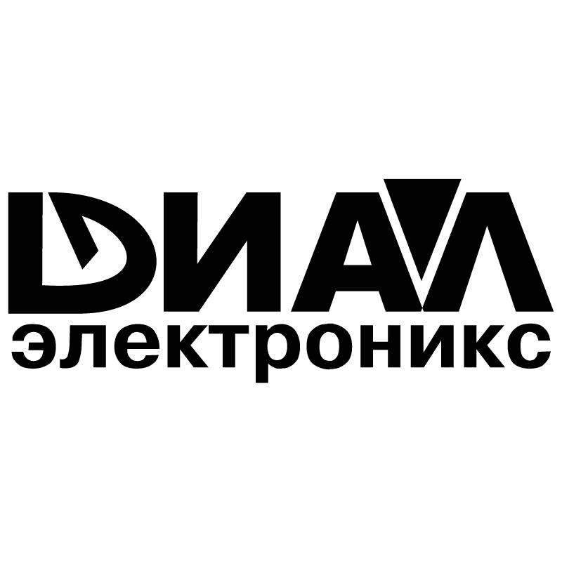 Dial Electronics vector logo