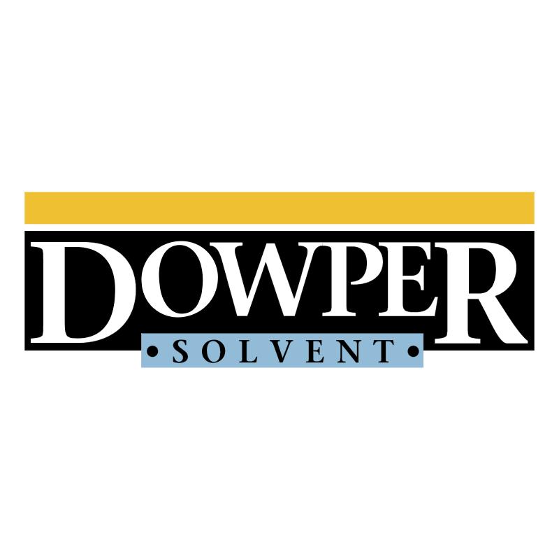 Dowper Solvent vector