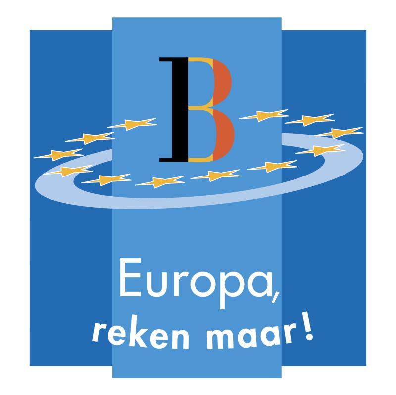 Europa reken maar! vector
