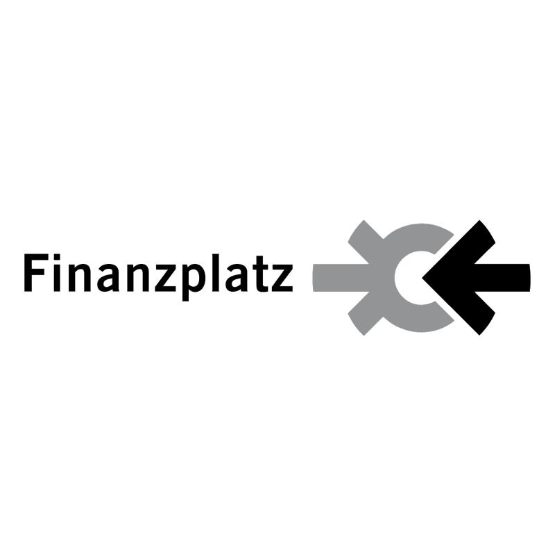 Finanzplatz vector