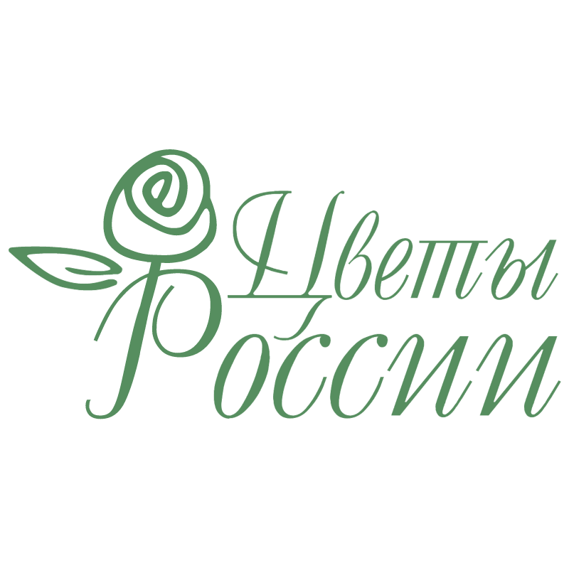 Flowers of Russia vector