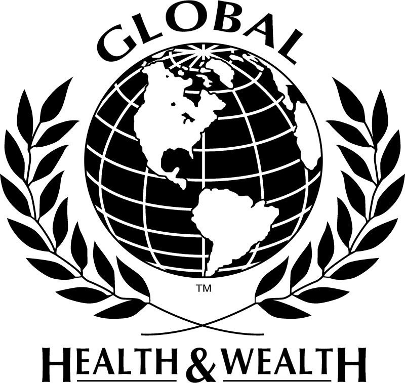 Global Health And Wealth vector logo