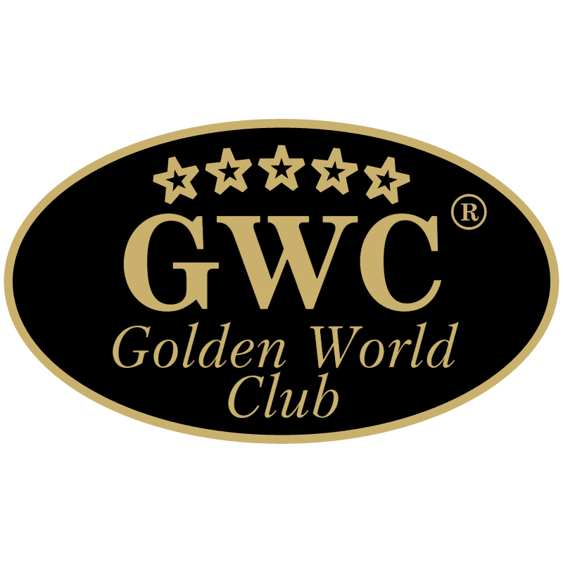 Golden World Club vector