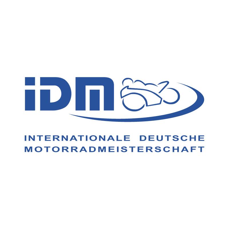 IDM vector logo