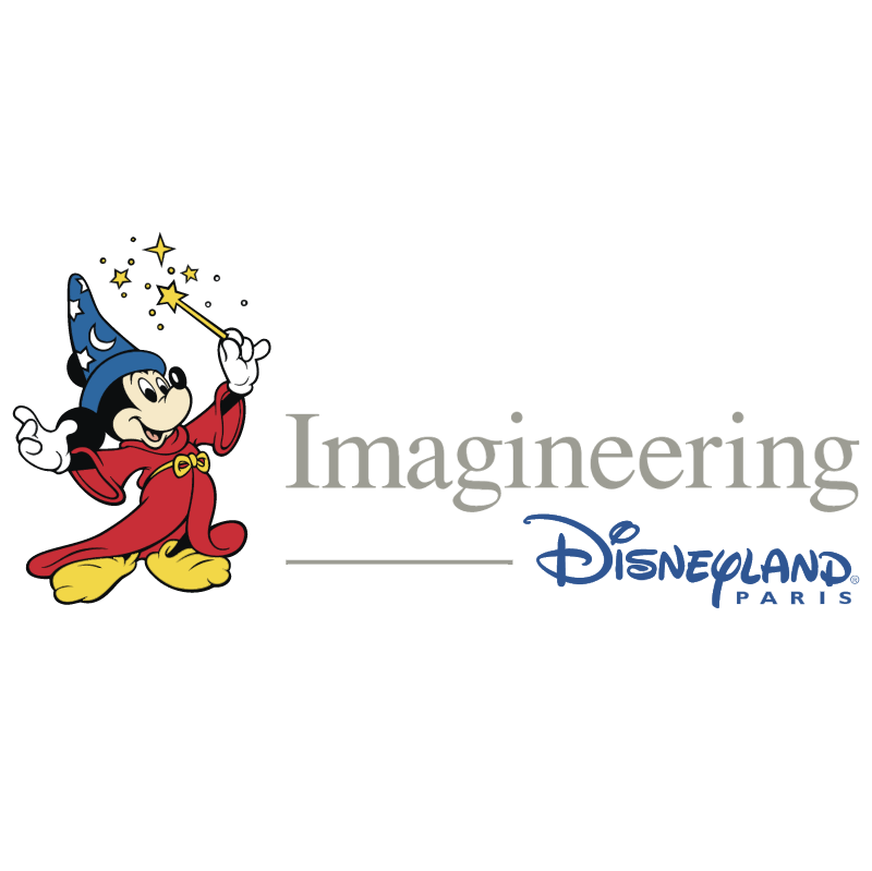 Imagineering Disneyland Paris vector