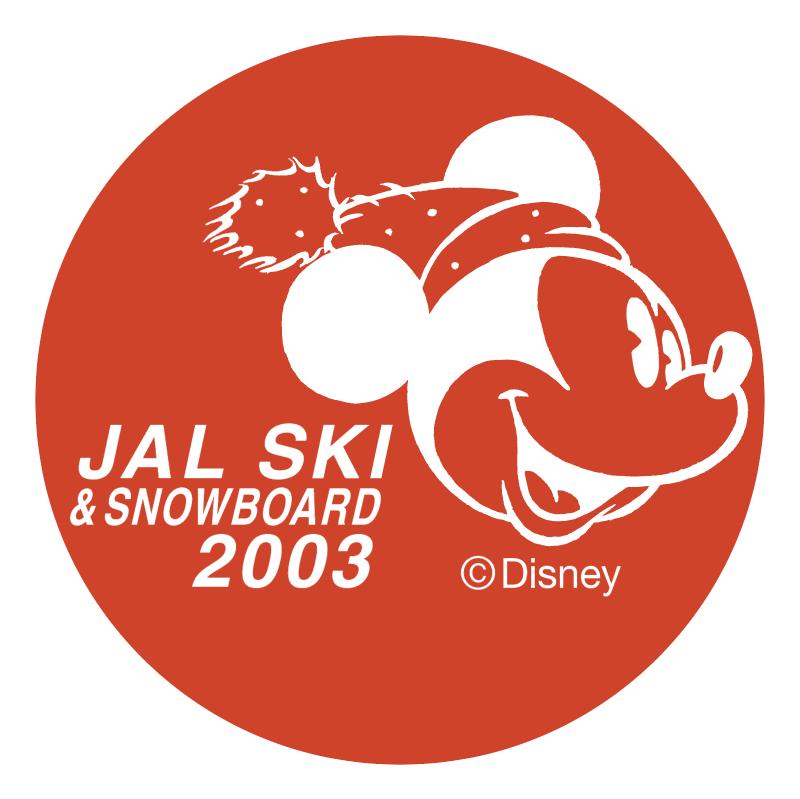 JAL Ski & Snowboard 2003 vector
