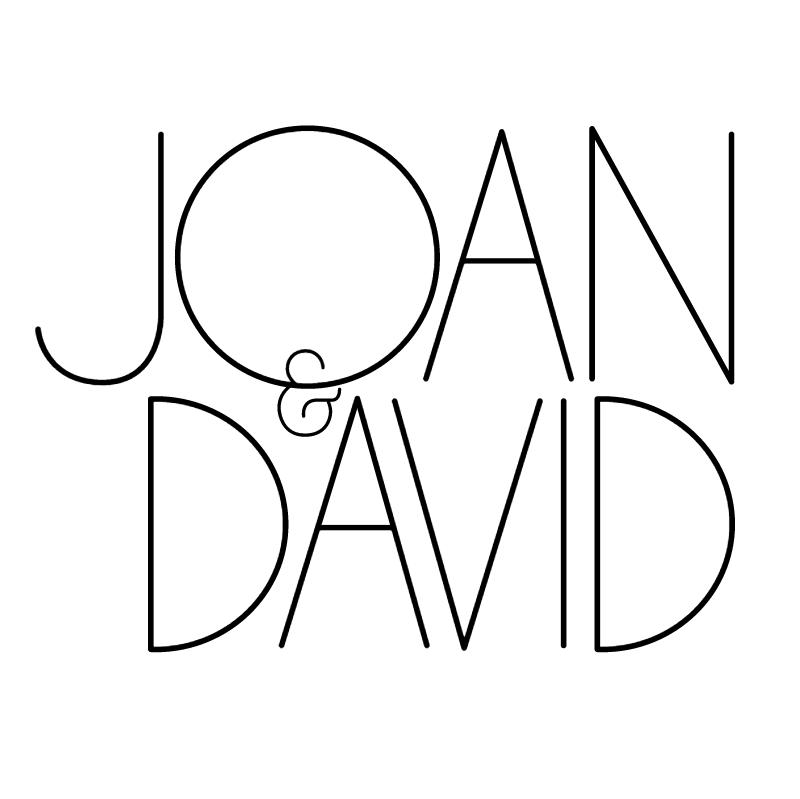 Joan & David vector logo