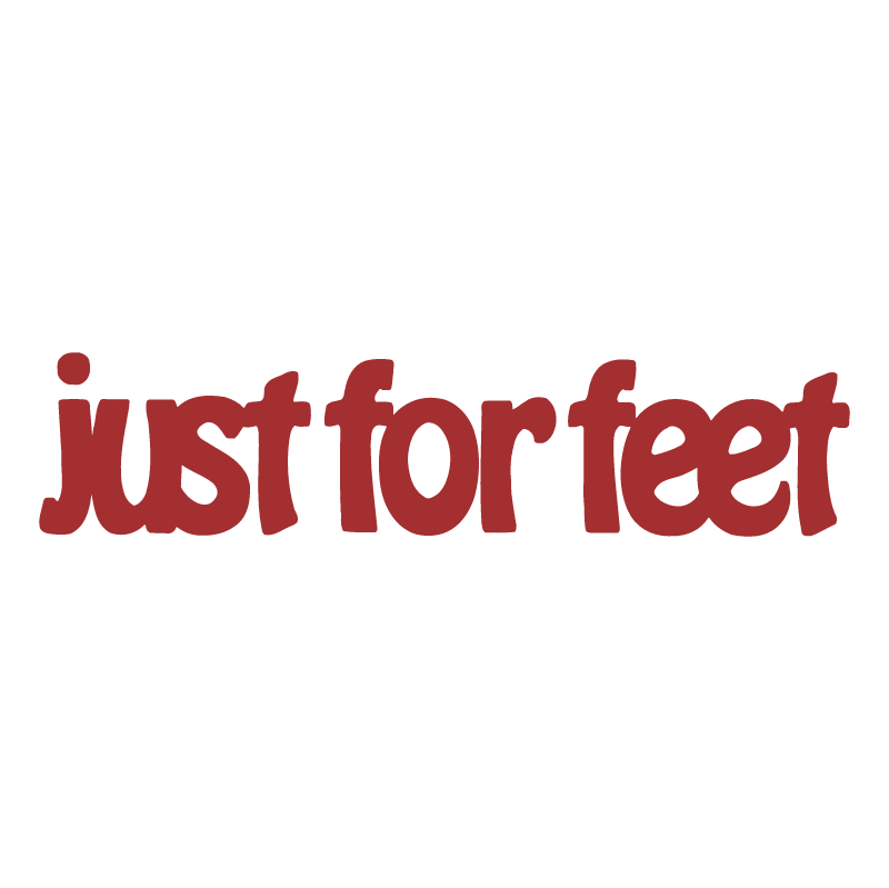 Just For Feet vector