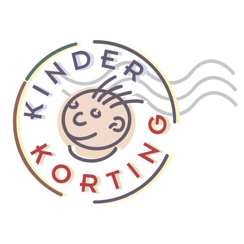 Kinder Korting vector
