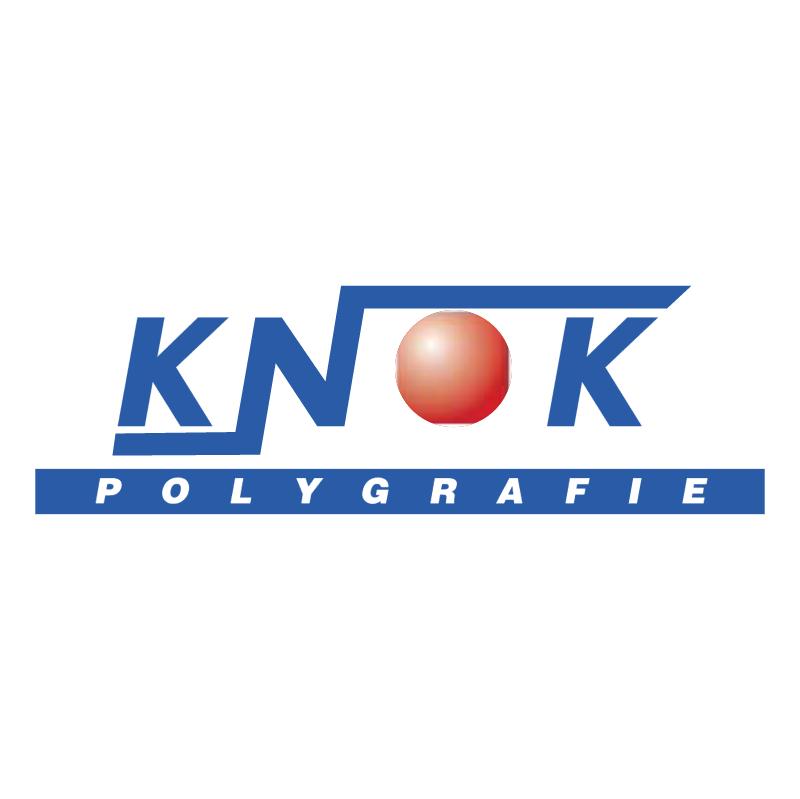 Knok Polygrafie vector