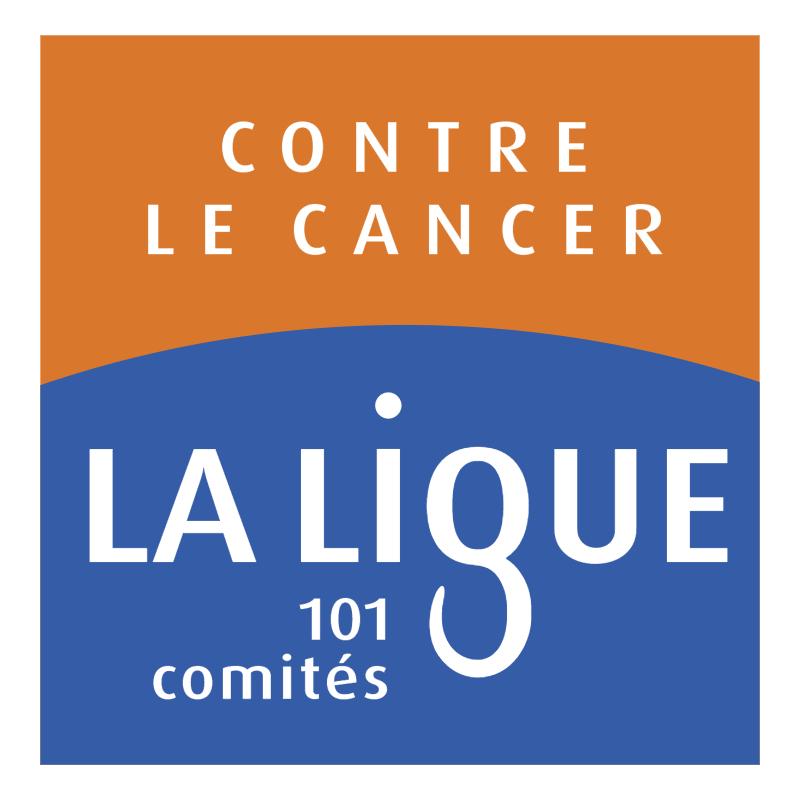 La Ligue Contre le Cancer vector