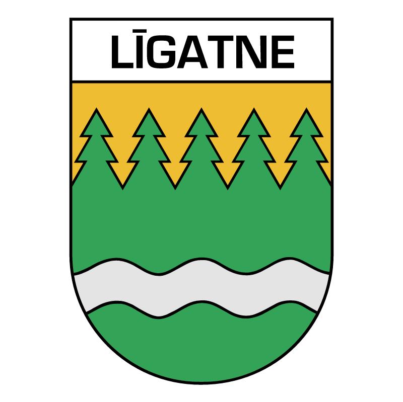 Ligatne vector logo