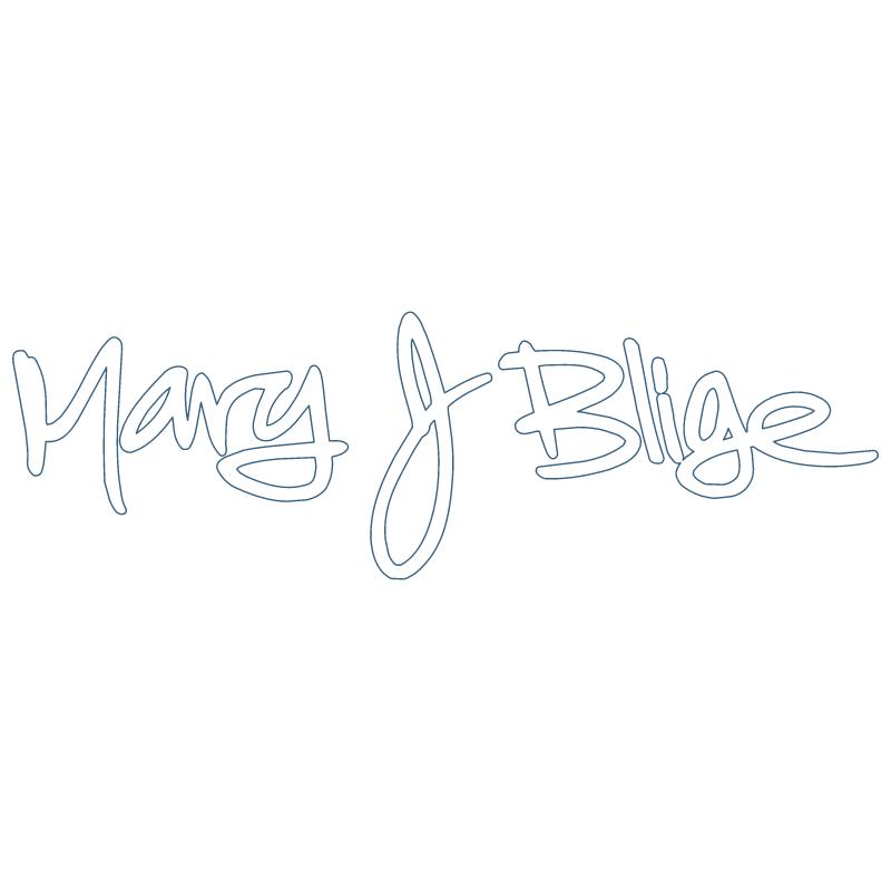 Mary J Blige vector