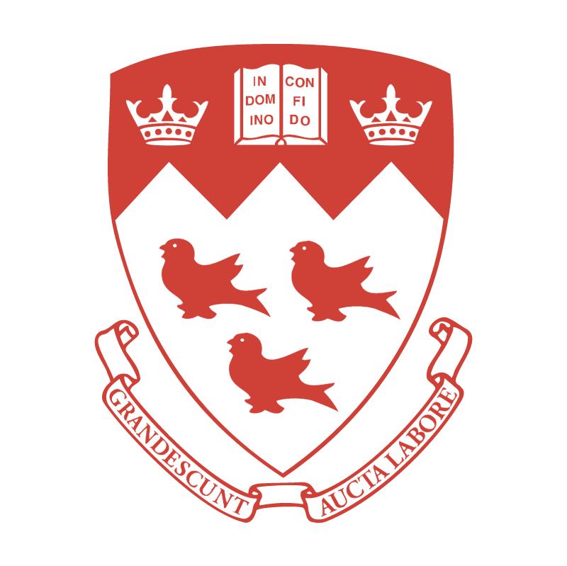 McGill University vector logo