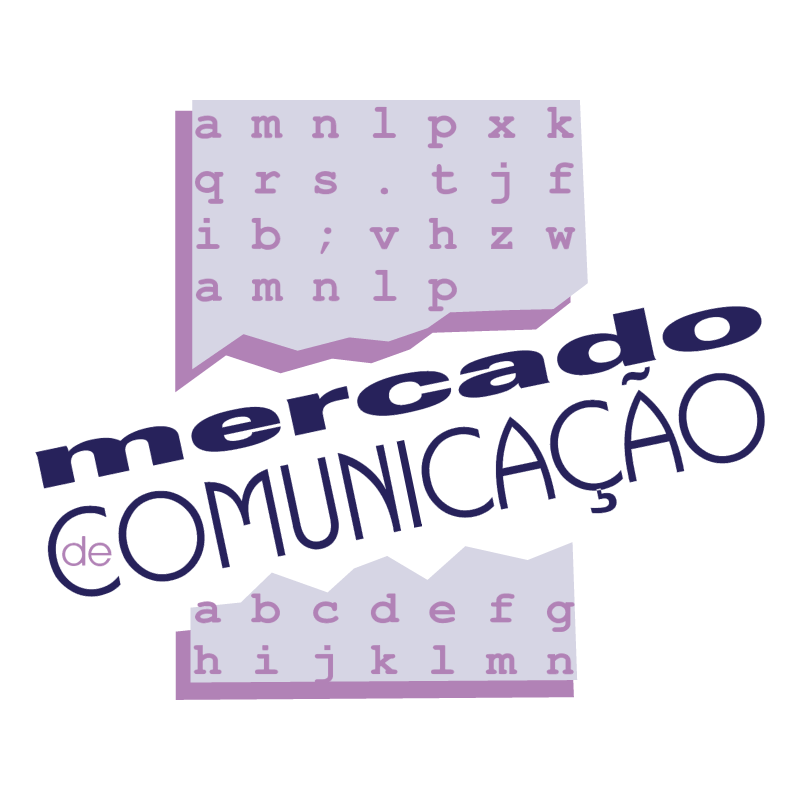 Mercado de Comunicacao vector