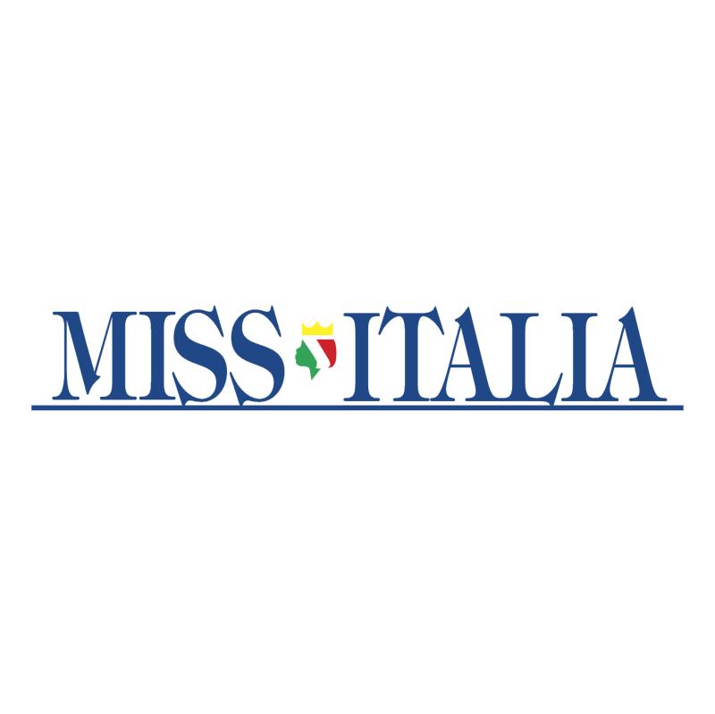 Miss Italia vector logo