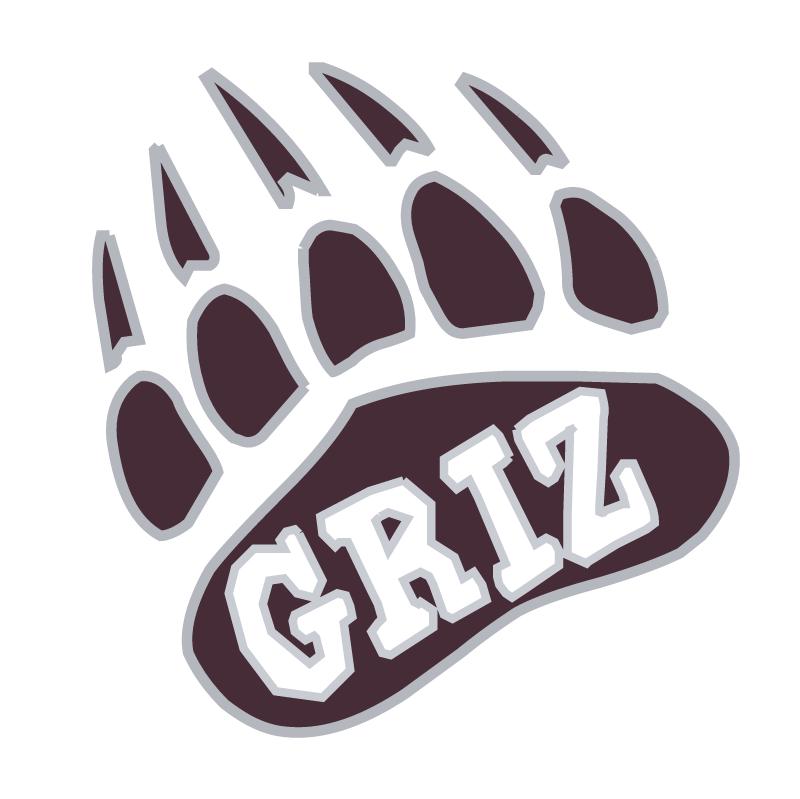 Montana Grizzlies vector