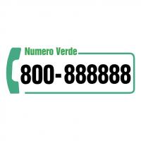 Numero Verde Telecom vector